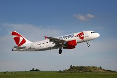 CSA - Czech Airlines - stock photo