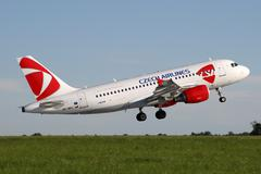 Stock Photo of CSA - Czech Airlines