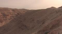 Israeli Desert- Judea/ West Bank Stock Footage