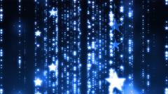 String Light Stars Background - stock footage