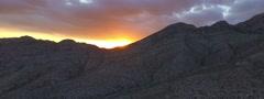 Sun in lens in Grand Canyon desert sunset, sunrise, aerial shots Arkistovideo