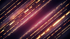 Stylish Light Strings Background Stock Footage