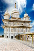 Sikh gurdwara. Gwalior fort, Madya Pradesh, India - stock photo