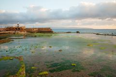 Templar Fortress in Acre Stock Photos