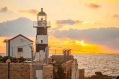 Lighthouse, Acre Stock Photos
