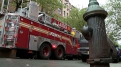 Firetruck (loop) Stock Footage