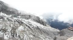 Jade Dragon Snow Mountain, Lijiang,Yunnan China. Stock Footage