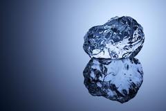 Ice cold beauty. - stock photo