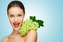 Sexy grape. - stock photo