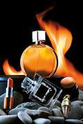 Odor of Flame. Stock Photos