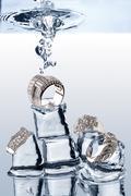 Underwater Jewelery - stock photo