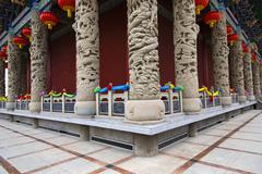 Luoshi Temple in Gansu province, China - stock photo
