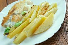 Carpe frite - stock photo