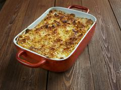 Funeral potatoes - stock photo