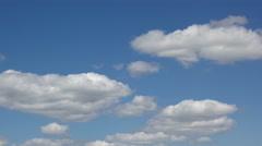 Sky clouds timelapse Stock Footage