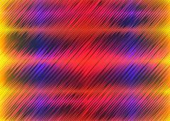 Abstract diagonal multiple wave shape Stock Illustration