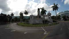 Historic Monument in Havana, Cuba Stock Footage