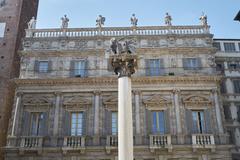 Madonna Verona Fountain - stock photo