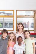 Primary classroom - stock photo