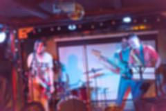 Musical band performing live blur background Stock Photos