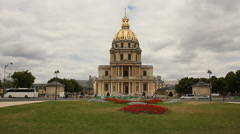 Les Invalides, Paris Stock Footage