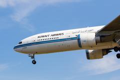 Kuwait boeing 777 Stock Photos
