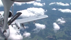 Air National Guard Aerial Refueling Stock Footage
