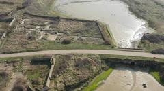 Tide Mills - East Sussex 4K Stock Footage