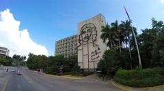 Plaza de la Revolucion, in Havana, Cuba. Stock Footage