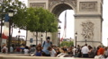 Arc de Triomphe, Paris Footage