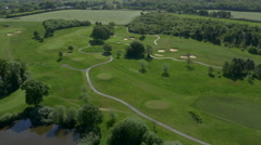 East Sussex National Golf Club 4K Stock Footage
