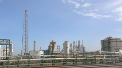 Refinery Factory Stock Footage