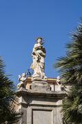 Monreale Palermo - stock photo