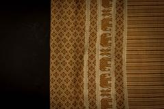 Textiles or fabric for background and design project. Stock Photos