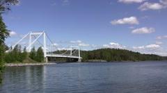 Finnish landscape - stock footage
