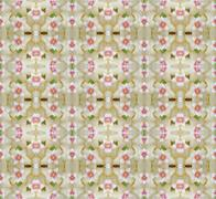 Hoya flowers seamless pattern background - stock photo