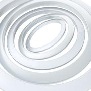 Multiple rings background composition - stock illustration