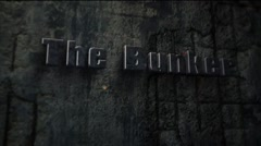 The Bunker - Concrete Bunker Logo Opener Stock After Effects