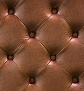 Brown leather texture as background - stock photo