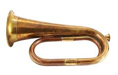 Trumpet musical instrument isolated Kuvituskuvat