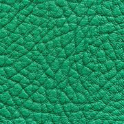 Green leather texture or background - stock photo