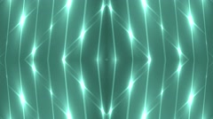 Background neon motion with fractal design. Stock Footage