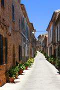 Alcudia Old Town Stock Photos
