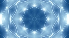 Background Blue motion with fractal design. Stock Footage