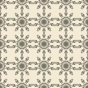 Stock Illustration of Geometric ornament seamless pattern.