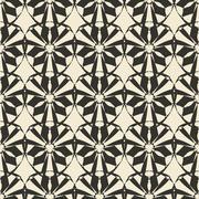 Geometric ornament seamless pattern.   Stock Illustration