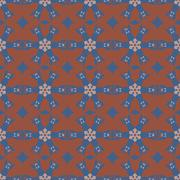 Stock Illustration of Geometric ornament seamless pattern.