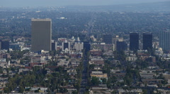 4K Los Angeles City Grids Timelapse 07 Daytime Stock Footage