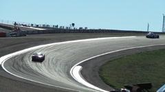 World championship of Speed race Stock Footage