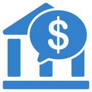 Bank Transfer icon from Business Bicolor Set Stock Illustration